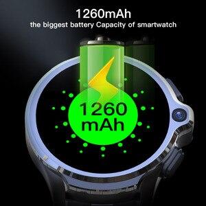 Image 2 - Kospet Prime Smartwatch Gezicht Id Unclok Dual Camera 1260Mah Batterij 4G Android Smart Horloge Gps Wifi Sim Card android 7.1