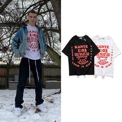 Kanye West Graphic T Shirts Pharrell Williams Streetwear Mens T-shirt Short Sleeve Jesus Is King T Shirt Stranger Things Summer