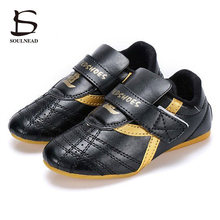 Black Taekwondo Shoes Men Gym Sneakers Adult Child Martial Arts Taichi Kung Fu Shoes Soft Sole wushu Wrestling Training Shoes breathable mesh kung fu shoes martial arts karate taekwondo wing chun wu shu shoe kids adult women man sports training sneakers