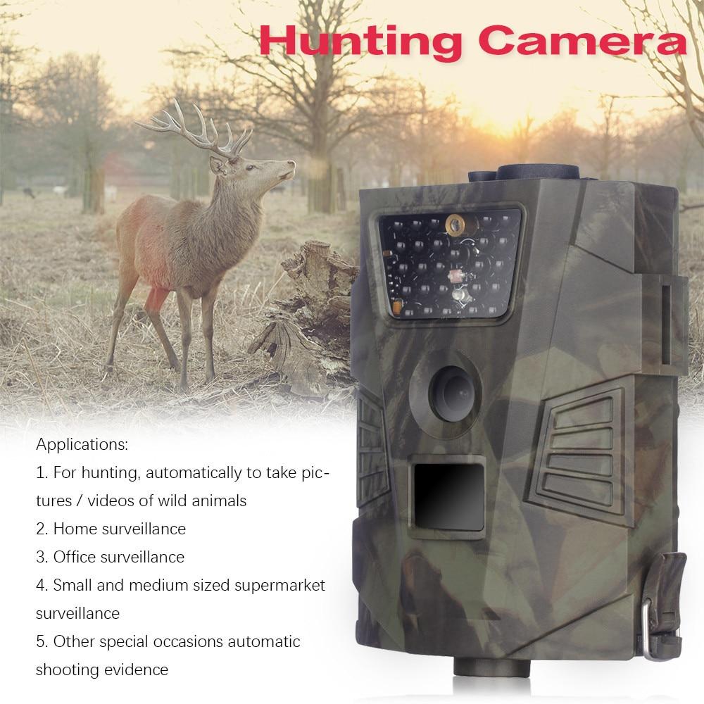 Caméras de chasse sur sentier HT-001 avec télécommande étanche Vision nocturne caméra sauvage forêt animaux Photo pièges Scouts