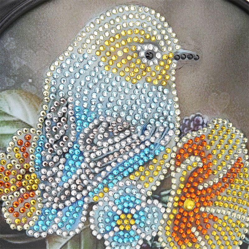 Купить с кэшбэком DIY Special Shaped Diamond Painting Wallet Diamond Painting A Bird