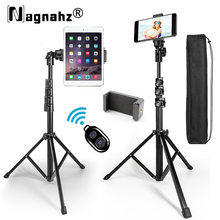 63inch Phone Selfie Stick Tripod Stand with Bluetooth Remote Universal Video Live Selfie Stand for Xiaomi HUAWEI iPhone Galaxy
