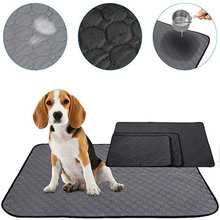 Washable Pet Dog Pee Pads Cat Diaper Mat Urine Absorbent Environment Protect Waterproof Reusable Training Puppy Pad Products