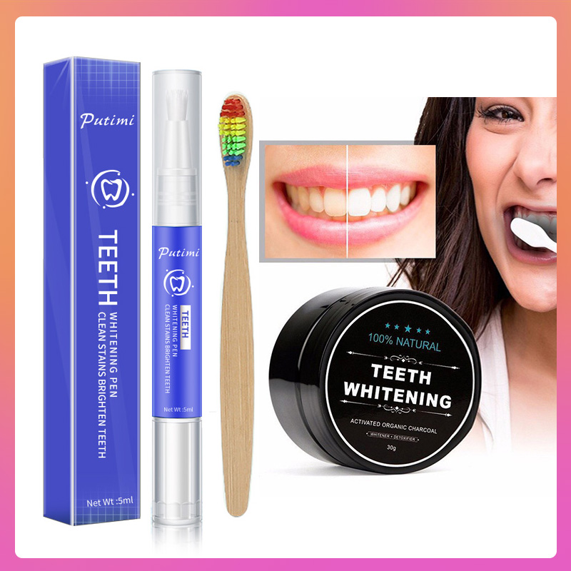 Portable Teeth Whitening Gel Pen Bleach Oral Hygiene Stains Removing Plaque Stain Tooth Cleaning Dental Care Toothbrush Pen