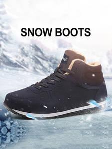 Men Winter Boots Ankle Boots For Men Shoes Casual Sneakers Men's Winter Shoes Men Snow