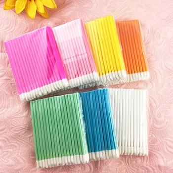 50pcs Disposable Make Up Lip Brush Lipstick Gloss Wands Applicator Makeups Lip Brushes Portable Extension Cosmetic Beauty Tool 1
