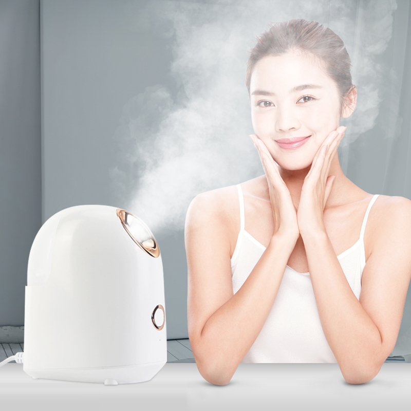 Nano Ionic hot spray Face Steamer hot spray machine Ion steam Face Sprayers instrument Facial moisturizer humidifier Beauty Spa   - title=