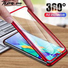 360 Degree Phone Case For Huawei P30 Pro P30 P20 Lite Shockproof Full Cover Shell For Huawei Y5 Y6 Y7 Y9 Prime 2019 With Glass(China)