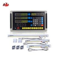 Máquina de torno/fresadora dro ferramentas de medição 3 axis digital readout