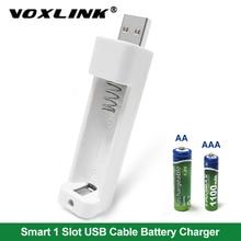 Ładowarka VOXLINK do ładowarki AA/akumulatory aaa do zdalnego sterowania kamera mikrofonowa cyfrowa latarka do myszy