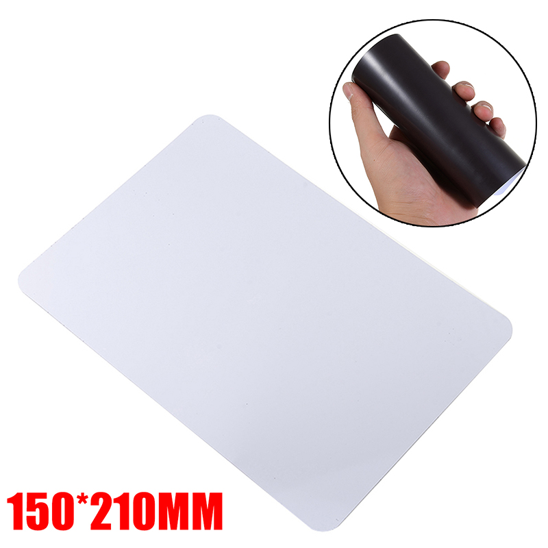1pc Magnetic Refrigerator <font><b>Whiteboard</b></font> <font><b>A5</b></font> Soft Memo Large Fridge Notice Board Recording Family Weekly Planner Home Kitchen Tool image