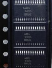 2 pièces ADG1406BRUZ TSSOP 28 ADG1406BRU TSSOP28 ADG1406B ADG1406 1406 Multiplex commutateur Nouveau et original