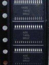 Мультиплексный переключатель ADG1406BRUZ TSSOP 28 ADG1406BRU TSSOP28 ADG1406B ADG1406 1406, новый и оригинальный, 2 шт.