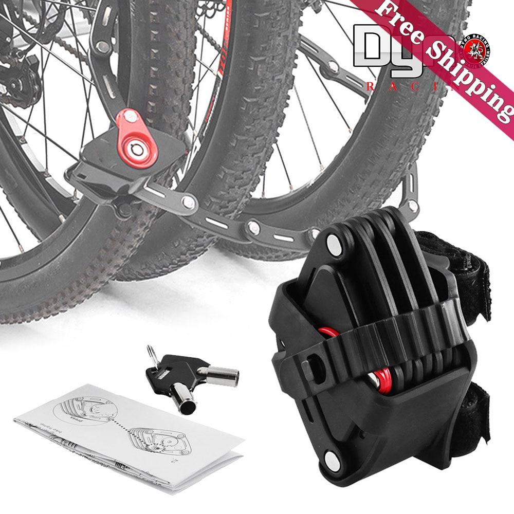 Anti Theft Wheel Disc Brake Lock Electric Bicycle Mountain Bike With 2 Keys O9 U