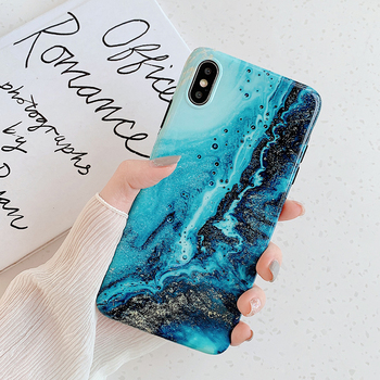 LOVECOM Phone Case For iPhone 11 Pro Max XR XS Max 6 6S 7 8 Plus X Soft IMD Cute Pink Vintage Marble Full Body Back Cover Coque 2