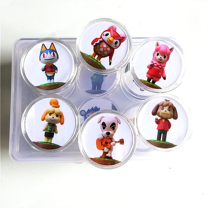 New Data Full Set 16Pcs/lot <font><b>Animal</b></font> <font><b>Crossing</b></font> Of <font><b>amiibo</b></font> Festival Collection <font><b>Card</b></font> Coin Game NFC Tag image