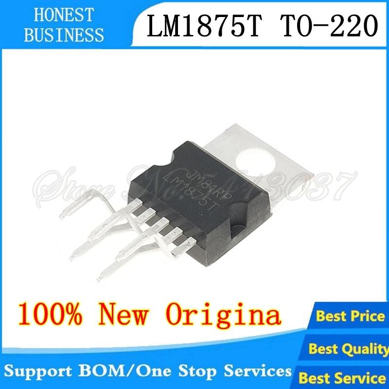 1PCS IC LM1875 LM1875T AMP AUDIO PWR 30W AB TO220-5 NEW GOOD QUALITY