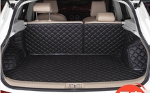 Customized Full Covered  Car Trunk Mats for Nissan Qashqai Waterproof Cargo Liner Boot Carpets for Qashqai