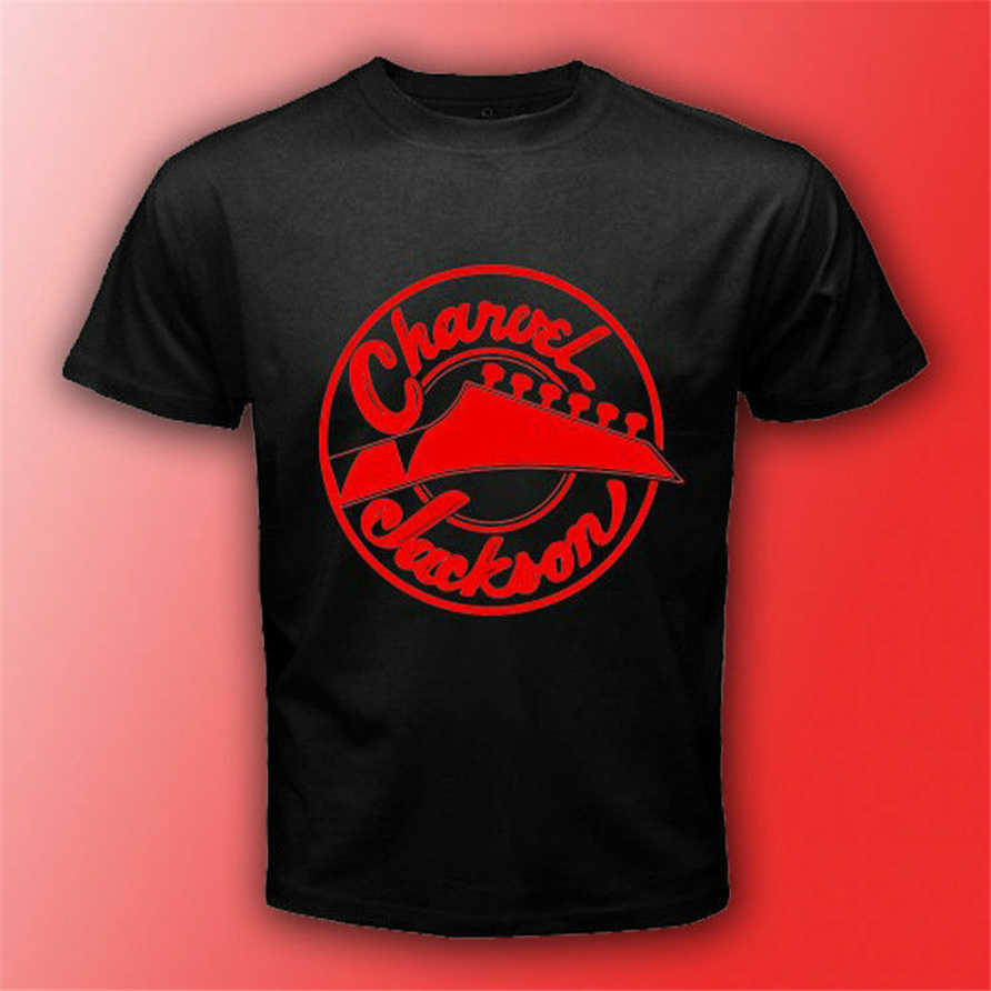 Charvel Jackson Guitars Logo Black T-Shirt Size S-3Xl Mens Unisex Rock Music Tee Birthday Gift Tee Shirt