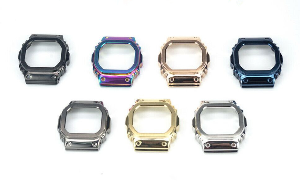 Free Shipping 1pc Brand New Full Metal Watch Bezel for DW-5600 Select Colors