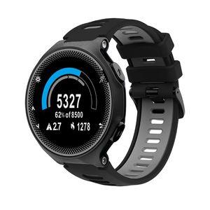Image 3 - 22mm opaska na rękę dla garmin forerunner 735xt/220/230/235/620/630 silikonowa bransoletka sportowa Watchband silikonowa bransoletka z paskiem wymiana Sma