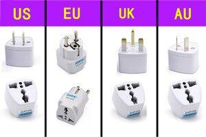 Image 5 - Multiprise multiprise prise 2/3 voies avec prise USB AU prises électrique 2m rallonge chargeur adaptateur de voyage pour bureau à domicile