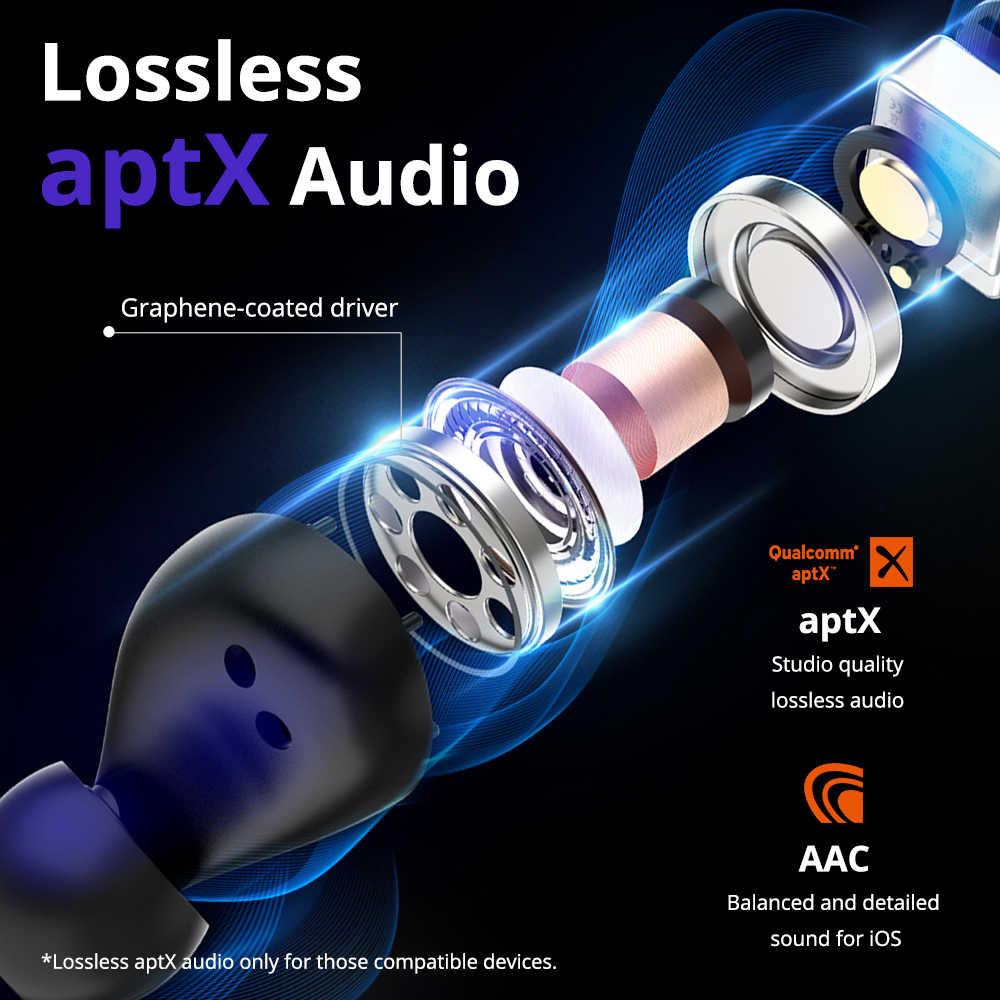 [أحدث إصدار] سماعة بلوتوث ترونسمارت فازت TWS سماعة كوالكومتشب تك APTX سماعات لاسلكية مع CVC 8.0