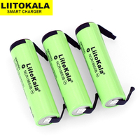 Liitokala new original NCR18650B 3.7V 3400mAh 18650 rechargeable lithium battery + DIY nickel batteries