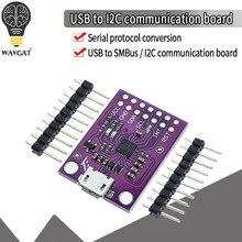 Cp2112 placa de depuração usb para smbus i2c módulo comunicação 2.0 microusb 2112 kit avaliação para módulo sensor ccs811