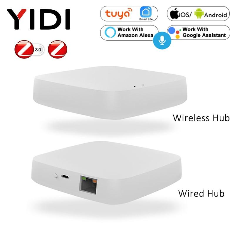Tuya Smart Zigbee шлюз концентратор Wifi умный дом мост умный жизнь беспроводной пульт дистанционного управления голосом работа с Alexa Google Home