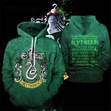Wizardry 3D Printed Hoodie with Pocket Ravenclaw Gryffindor for Adult Unisex Sweatshirt Costume Hoodies