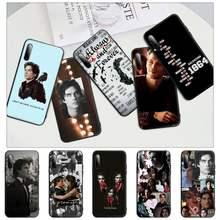 Popolar os diários vampiro preto silicone caso capa de telefone para honra 7a pro 7c 10i 8a 8x 8s 8 9 10 20 lite