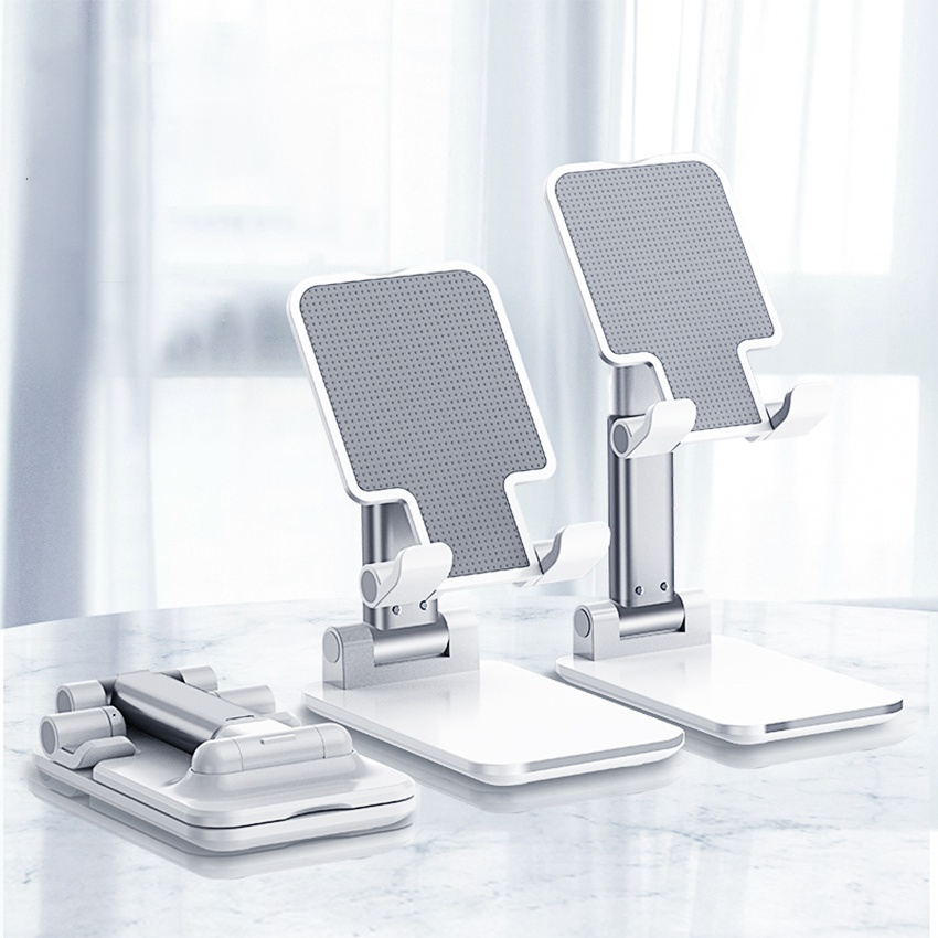 Phone Holder Foldable Mobile Adjustable Flexible For Desk Home For Samsung Phone Stand Support For IPhone 11 XR XS Pro Max P40