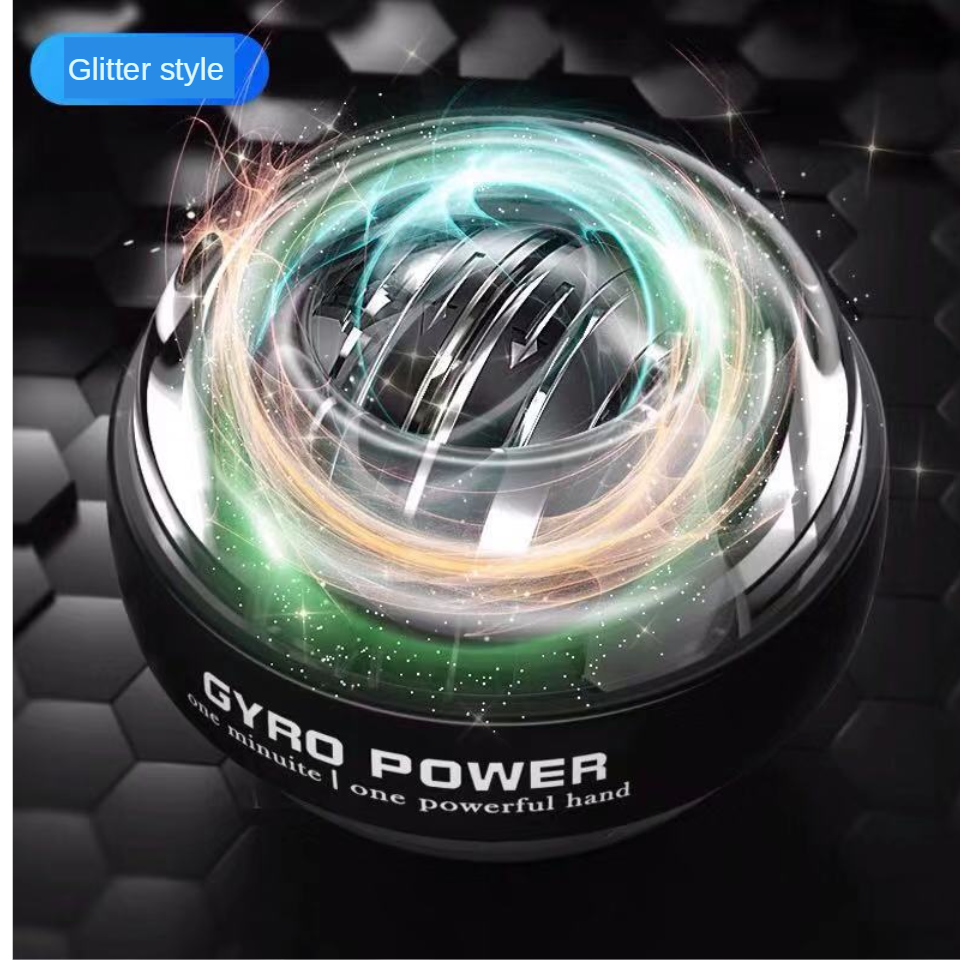 LED Light Self-starting Power ball Wrist Power Hand Ball Muscle Relax Spinning Wrist Trainer Exercise Equipment Strengthener