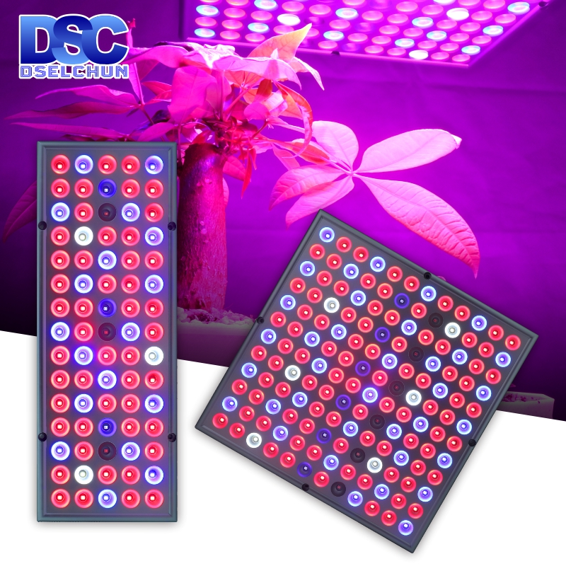 LED Grow Light 25W 45W Full Spectrum Plant Lights AC85-265V Plant Panel Lamp For Greenhouse Hydroponics Flowers Vegetables
