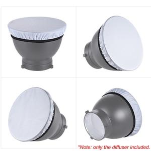 Image 5 - Andoerポータブルラウンドソフトボックスユニバーサル写真スタジオフラッシュディフューザーソフトボックス布カメラカメラaccesseries