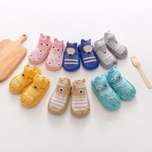 Socks Shoes Baby Toddler Anti-Slip Newborn Girl Infant Cotton Cartoon Cute Indoor Soft