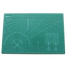 Tapete de corte A3 A2 de PVC para manualidades, esterilla multiusos de corte autocurativo para acolchar herramientas de cuero de doble cara, esterilla para cortar