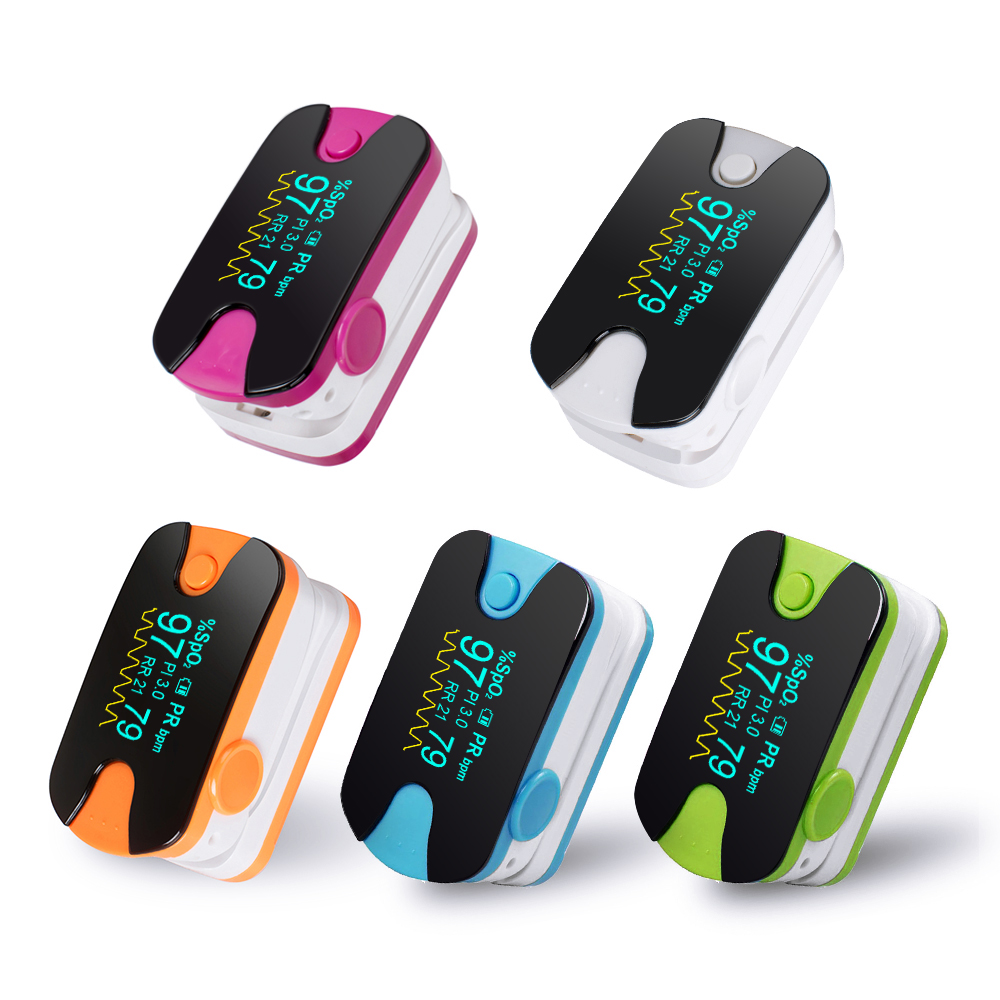 Finger Pulse Oximeter Spo2/PR Fingertip Oxygen Monitor SPO2 PR Home Health Care *MEDCERT*