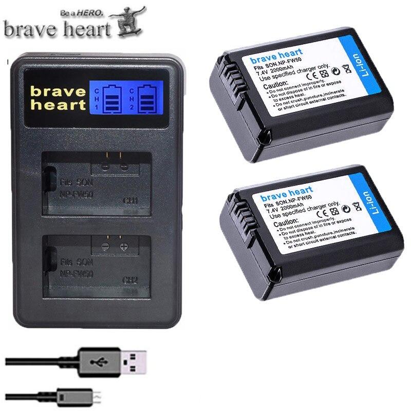 Np-fw50 Fw50 Batería Para Sony Alpha A33 Nex-7 Nex-c3 Nex-5 Slt-a55 Nex-5c