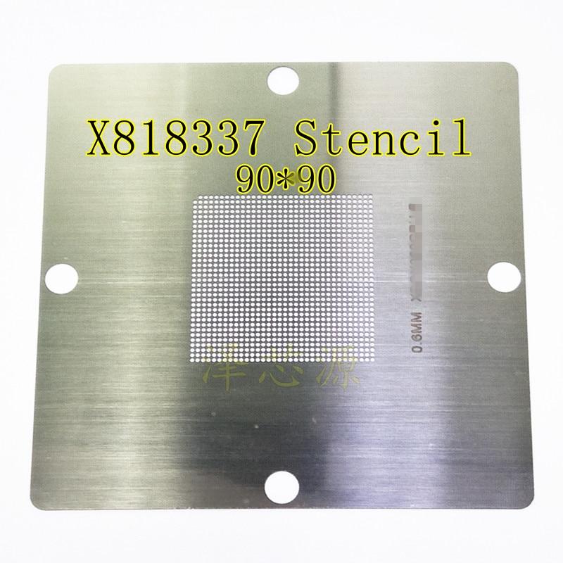 X818337-001 X818337-002 X818337-003 X818337-004 X818337-005 90*90 0.6mm Stencil Template