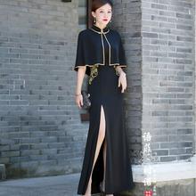 Chinese Cheongsam Improvement Women Long Dress Evening dress