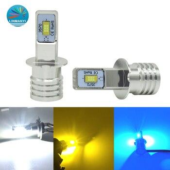 2pcs H3 LED Bulb COB Chip White 1500LM Car Led Lights Fog Head Lamp Auto 9~32V 6000K