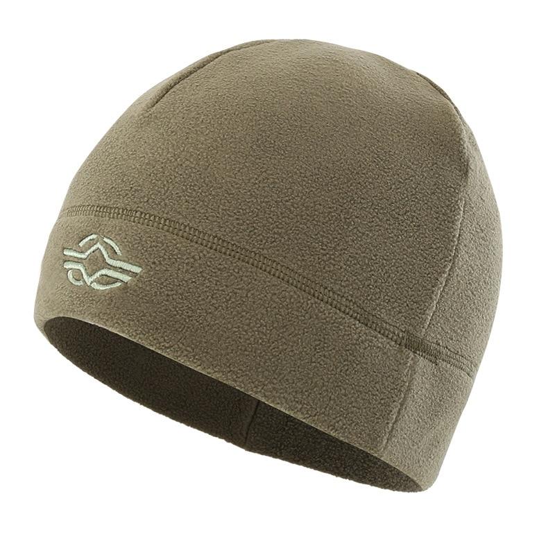 56-60 см уличная тренировочная камуфляжная Тепловая ветрозащитная флисовая шапка мужская зимняя велосипедная походная охотничья Толстая теплая армейская тактическая шапка - Цвет: Зеленый