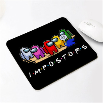20*24CM Among us Gaming Anti-slip Mouse Pad Mini Notebook Supple Computer Mat Office Desk Mat Advertising Gift Mat 2