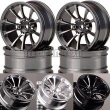 """NEW ENRON 4P 1.9"""" Aluminum 52mm Wheel Rim For RC 1/10 1:10 On Road Drift Traxxas HSP Tamiya HPI Kyosho RedCat SAKURA"""
