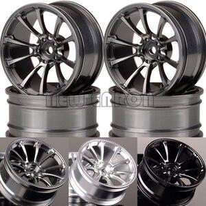 """Image 1 - NEW ENRON 4P 1.9"""" Aluminum 52mm Wheel Rim For RC 1/10 1:10 On Road Drift Traxxas HSP Tamiya HPI Kyosho RedCat SAKURA"""