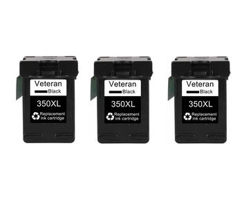 Remanufactured for HP 350 350XL Black Ink Cartridge compatible to HP Deskjet D4260 4260 D4360 C4200 Printers фото