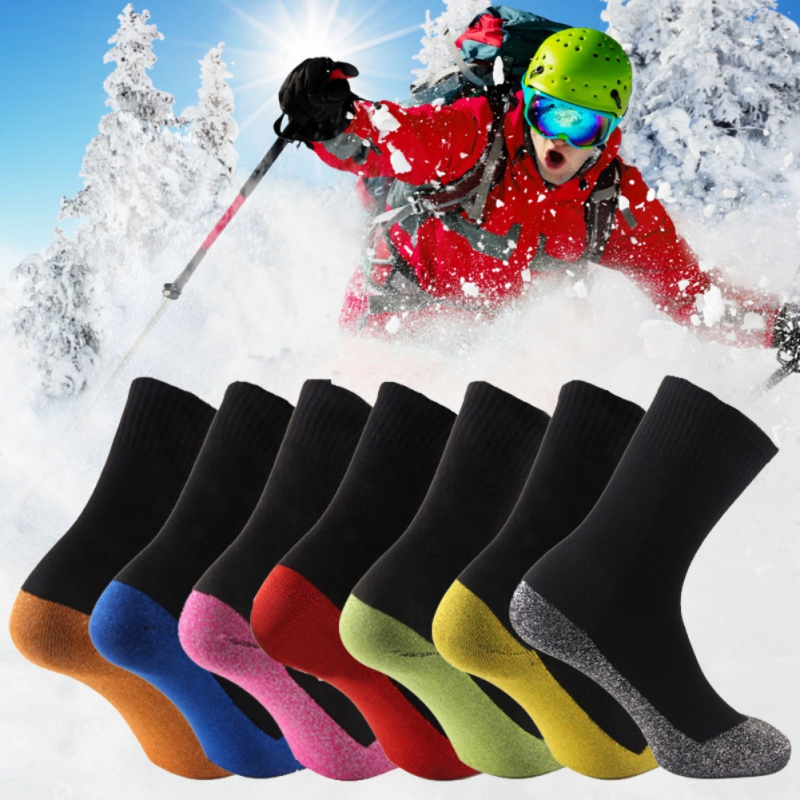 35 Degrees Ultimate Comfort Socks Aluminized Fibers Supersoft Socks Sports Ski Snowboard Climbing Camping Hiking Socks