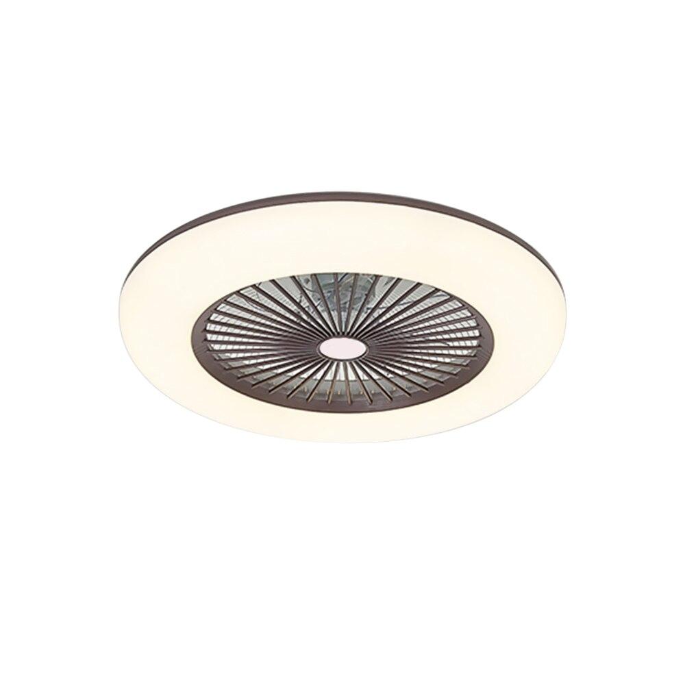Ventilador de teto com iluminação led luz
